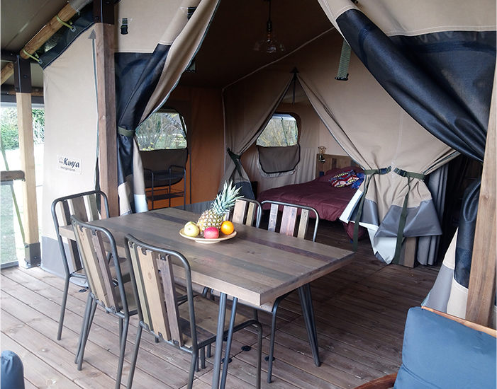 "Le Lodge Altitude : la location familiale ""prête à camper"""