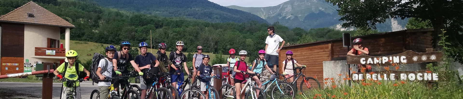 Camping Belleroche Accueil de groupes (cyclistes, randonneurs, cavaliers, motards)