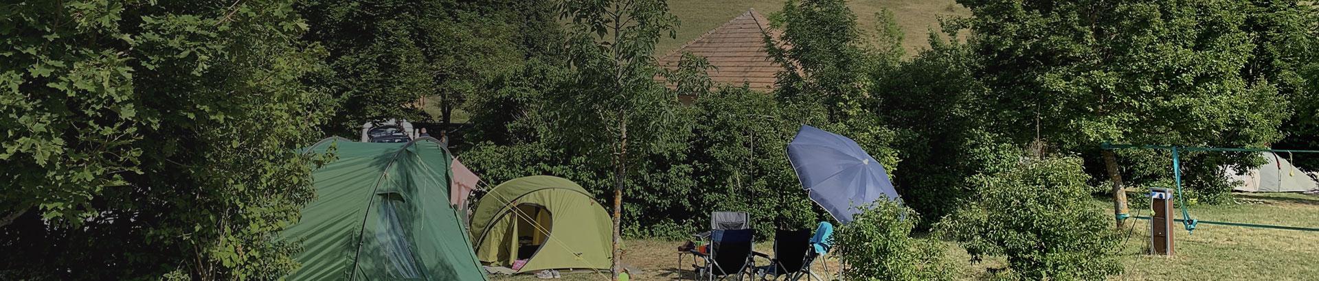 Camping Belleroche tentes