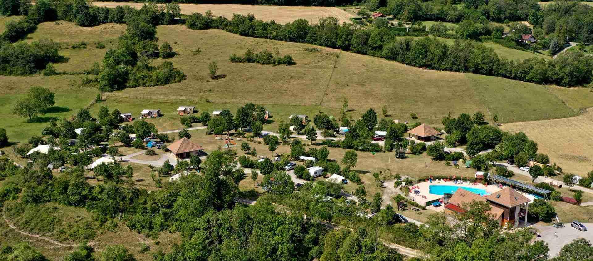 Le camping Belle Roche à Lalley, en Trièves