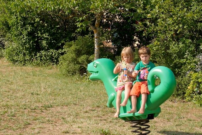 La plaine de jeux : le paradis des enfants