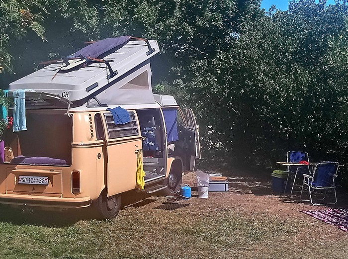 Emplacement Nature au camping Belle Roche