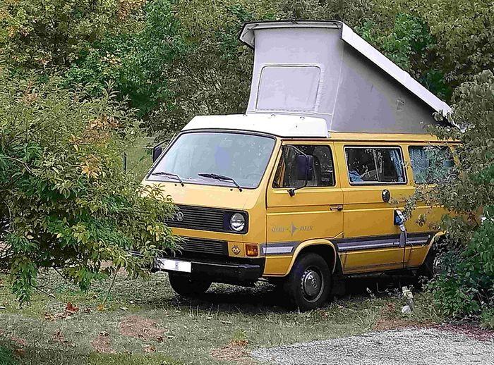 Les vans sont aussi les bienvenus sur les emplacements confort