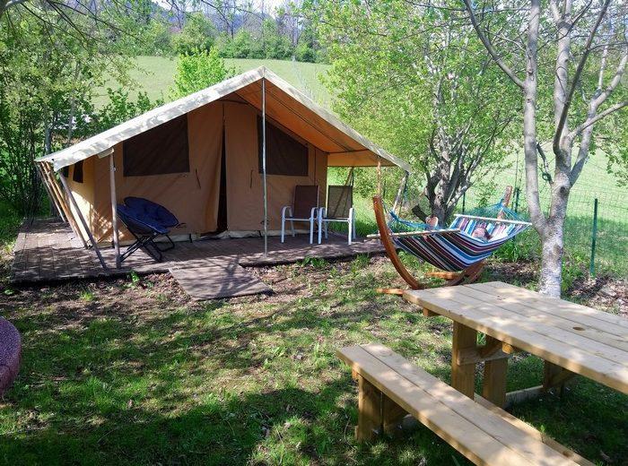 Profitez du bel emplacement de la location Lodge Nature
