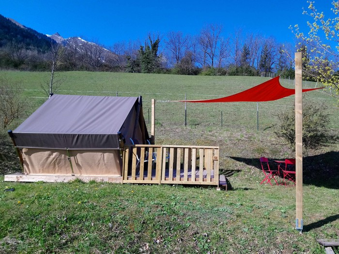 La location nature pour un bivouac à deux personnes : la Tente Liberté