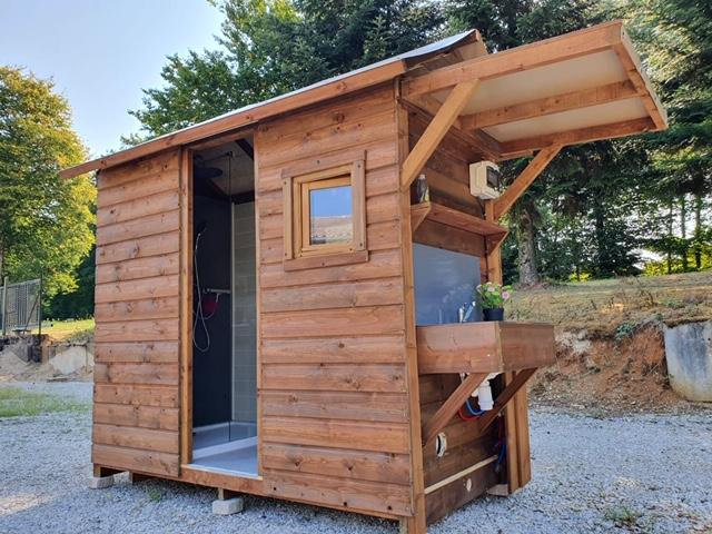 """La """"cabane au fond du jardin"""" pour s'intégrer dans le paysage montagnard"""